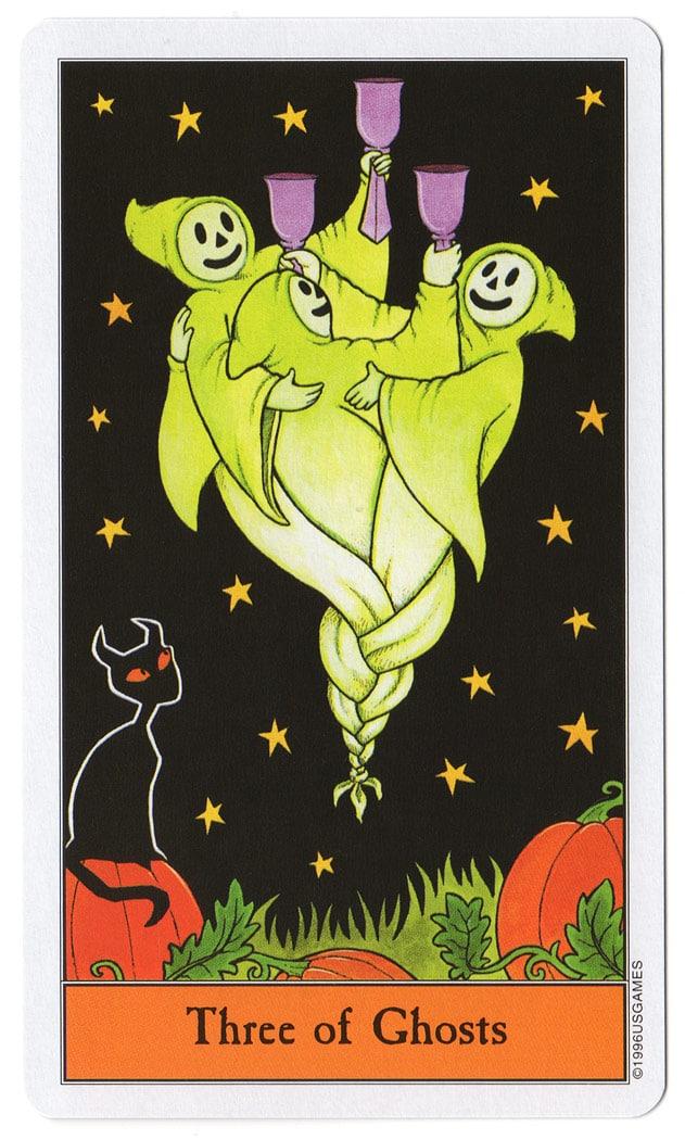 Halloween Tarot en korte betekenissen
