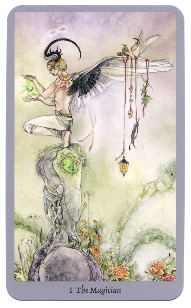 tarotkaart magier shadowscapes tarot
