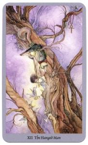 tarotkaart de gehangene offert zichzelf