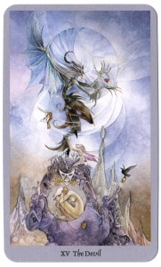 shadowscapes duivel tarotkaart