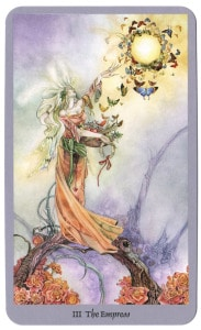 the secret van de shadowscapes tarot keizerin