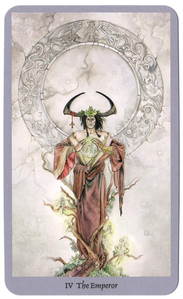 shadowscapes tarotkaarten de keizer