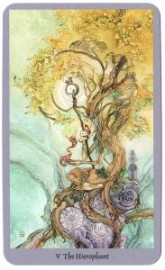 heremiet hierofant shadowscapes tarotkaarten