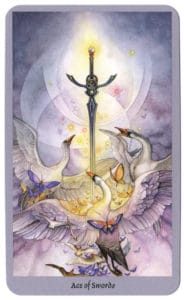 shadowscapes tarot zwaarden aas