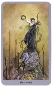 tarot staven 6 shadowscapes