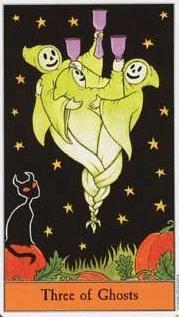 halloween tarot spoken drie