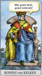 De tarot Koningen over hun motto's
