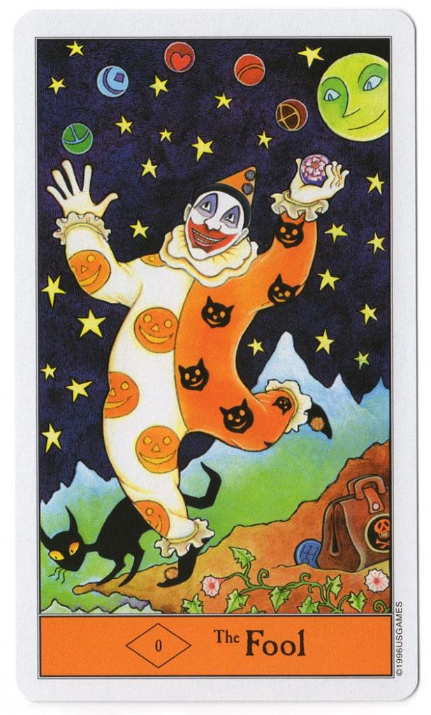 halloween tarot dwaas