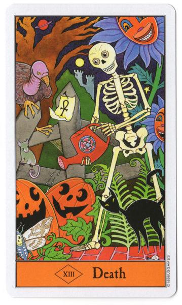 halloween tarot de dood