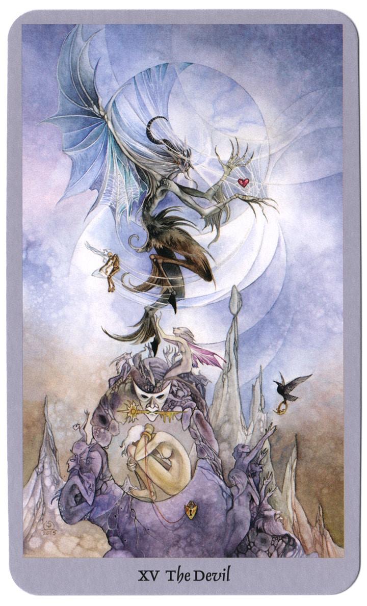 tarotkaarten shadowscapes duivel