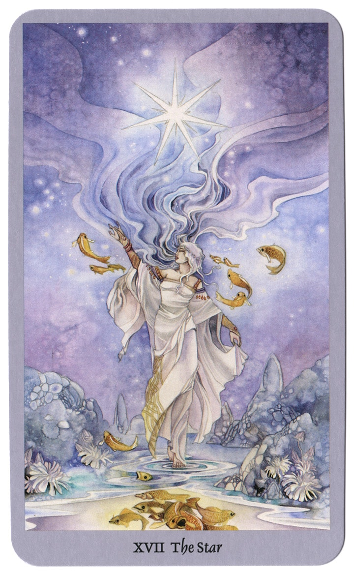 shadowscapes tarotkaart De Ster
