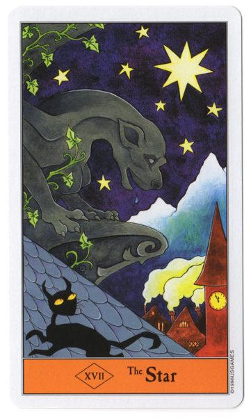 halloween tarot de ster