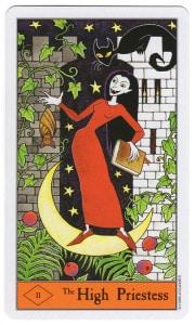 halloween tarot hogepriesteres