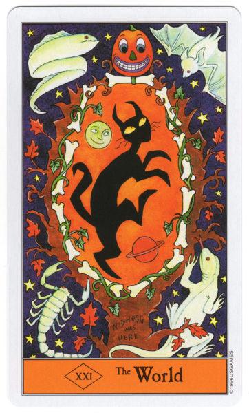 halloween tarot de wereld