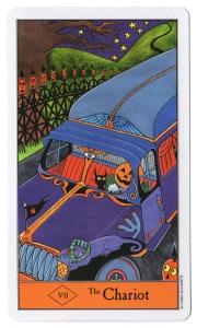 de zegewagen tarotkaart halloween tarot gebruik ook je gevoel