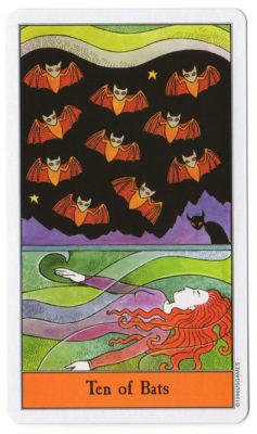 halloween tarot vleermuizen 10