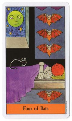 halloween tarot vleermuizen 4
