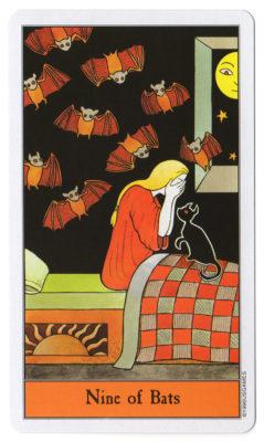 halloween tarot vleermuizen 9