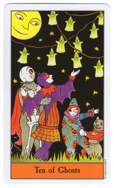 halloween tarot spoken 10