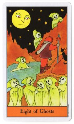 halloween tarot spoken 8
