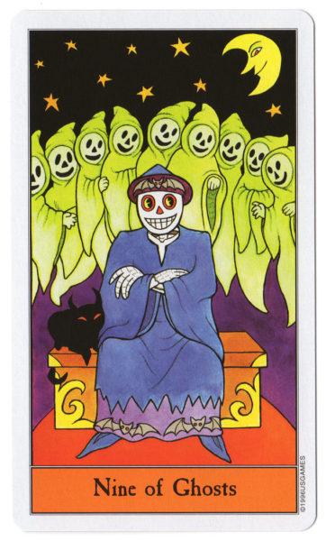halloween tarot spoken 9