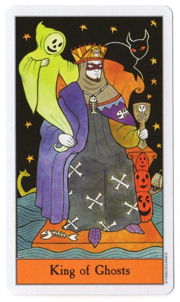 halloween tarot spoken koning