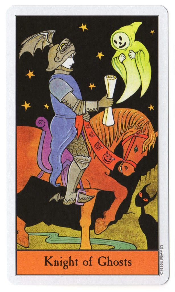 halloween tarot spoken ridder