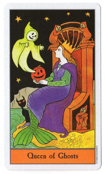 halloween tarot spoken koningin