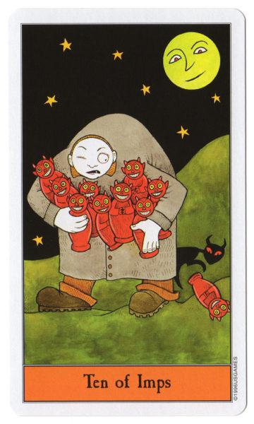 halloween tarot impen 10