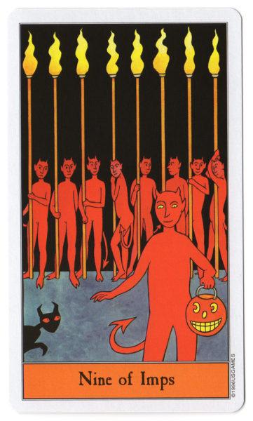 halloween tarot impen 9