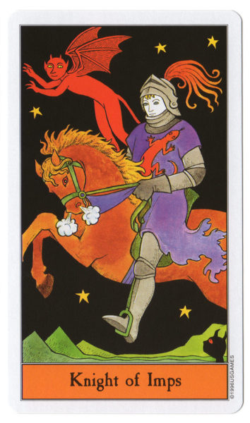 halloween tarot impen ridder