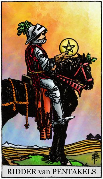 Cursus Tarot Pentakels-Ridder