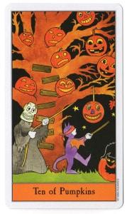 halloween tarot pompoenen 10
