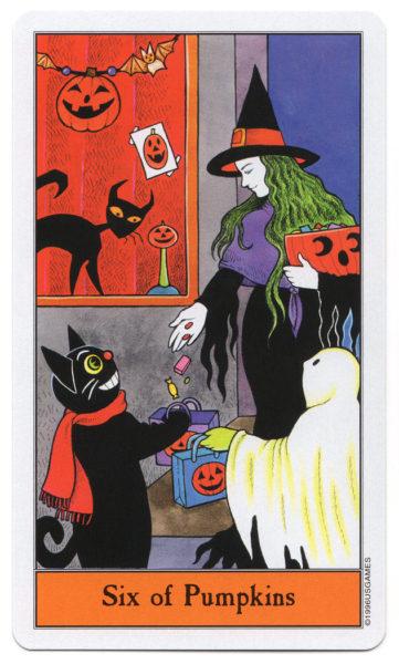 halloween tarot pompoenen 6