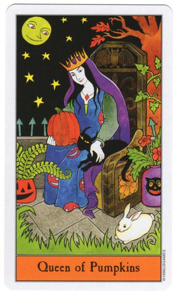 halloween tarot pompoenen koningin