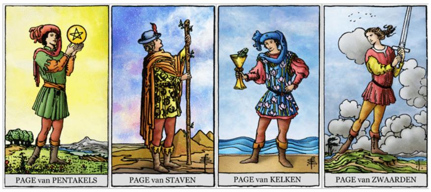 caproen tarotkaarten pages