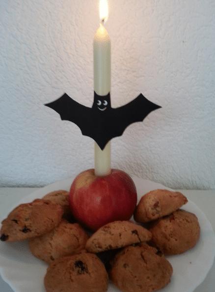 samhain koekjes koningin staven tarotkaart