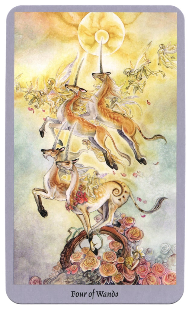 shadowscapes tarot staven vier