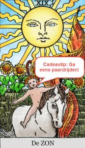 tarot cadeautip de zon