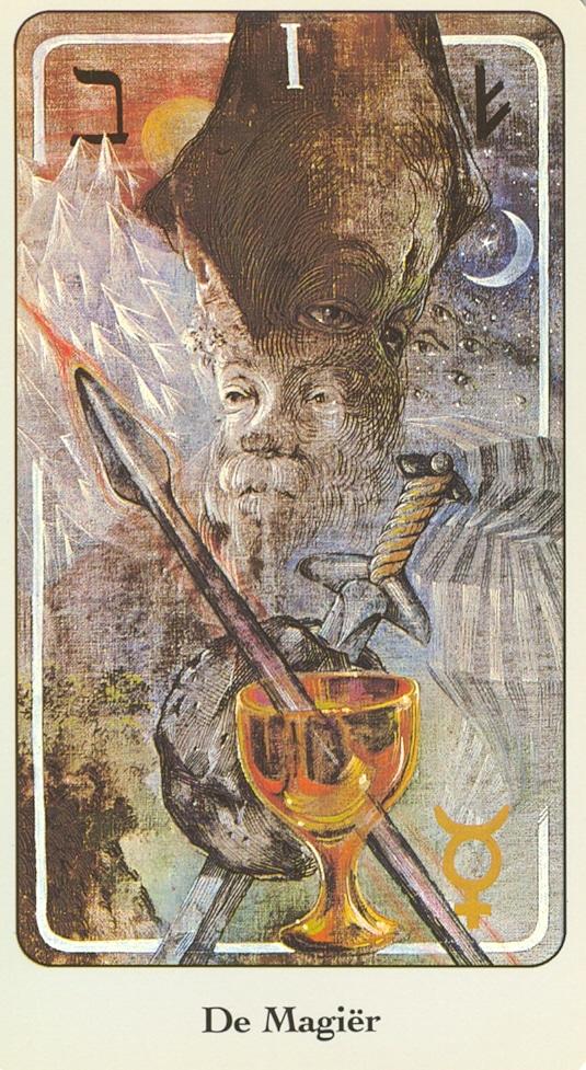 Haindl Tarotkaart De Magiër