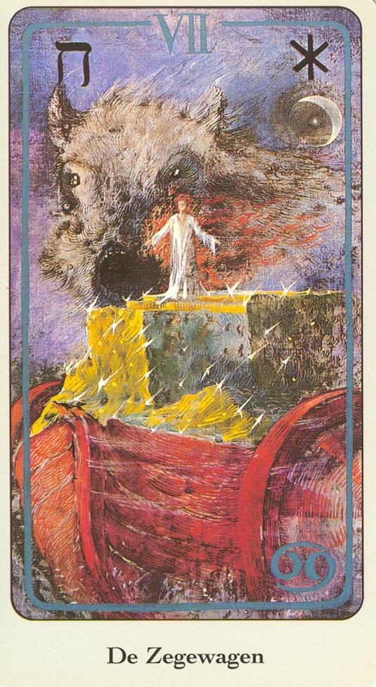 Haindl Tarotkaart De Zegewagen