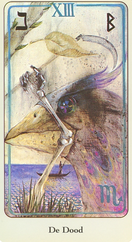 Haindl Tarotkaart De Dood