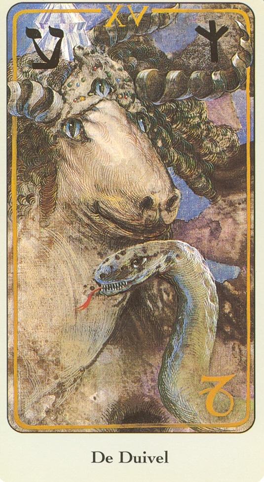 Haindl Tarotkaart De Duivel