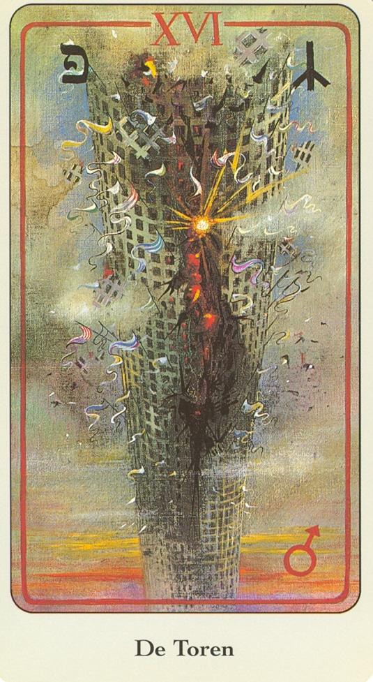 Haindl Tarotkaart De Toren