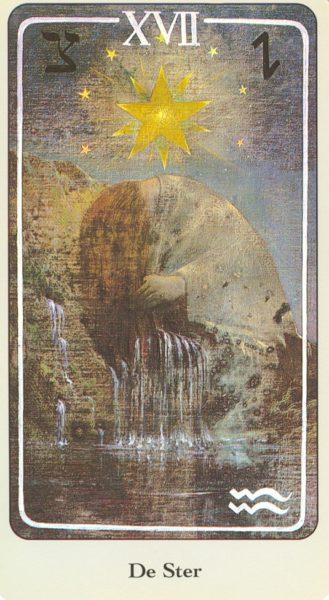 Haindl Tarotkaart De Ster