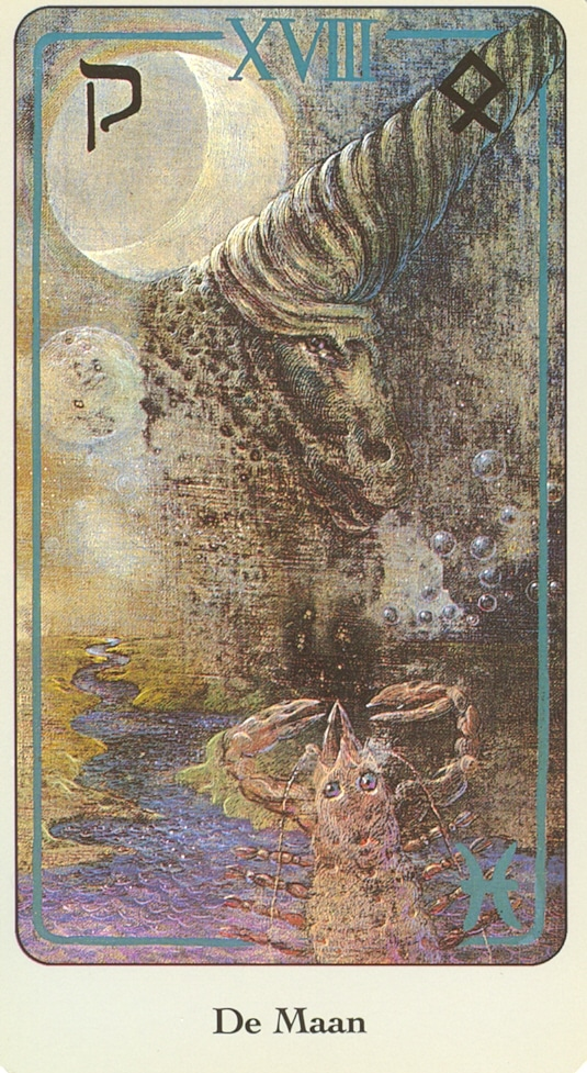 Haindl Tarotkaart De Maan