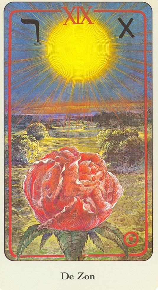 Haindl Tarotkaart De Zon
