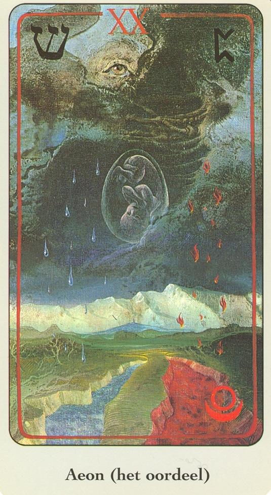 Haindl Tarotkaart Aeon (het oordeel)