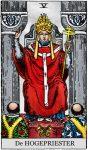 tarotkaart de hogepriester klein