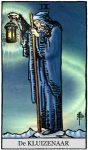 tarotkaart de heremiet klein